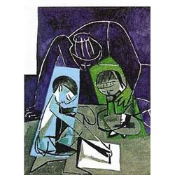"Picasso ""Children Writing"""