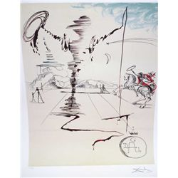 "Dali ""Chevalier"" - Limited Edition Lithograph"