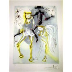 "Dali ""Picador"" Lithograph - Limited Edition"