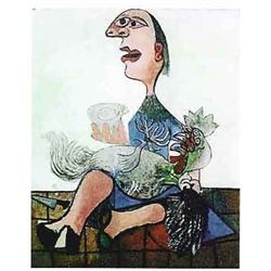 "Picasso ""Woman With Rooster"""
