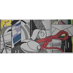 "Lichtenstein ""Study For Green Street Mural"""