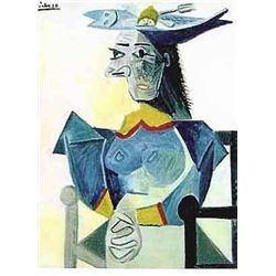 "Picasso ""Lady With Fork And Lemon In Hat"""