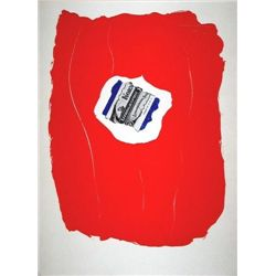 """Motherwell """"Tricolor"""" Original Lithograph"""