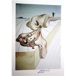 Salvador Dali Woodblock 1960