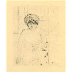 "Bonnard ""Buste"" Original Lithograph, Edition Of 20"
