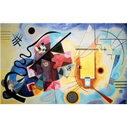 "Kandinsky ""Yellow, Red And Blue"""