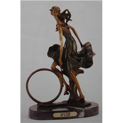 """Playtime"" Bronze Sculpture Inspired - Icart"