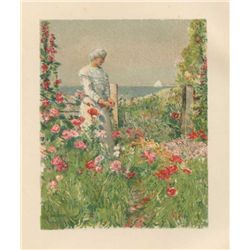 Childe Hassam Chromolithograph