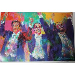 "Hand Signed Neiman ""Three Tenors"""