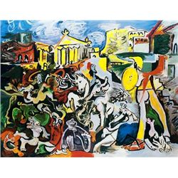"Picasso ""The Rape Of The Sabine Woman"""