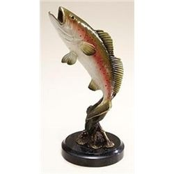 Sea Trout Bronze Sculpture