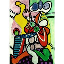 "Picasso ""Large Still Life On A Pedestal Table"""