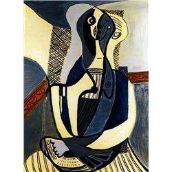 Picasso  Seated Woman