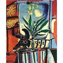 "Picasso ""Bullhead With Plant"""