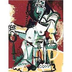 """Picasso """"Sitting Figure"""""""
