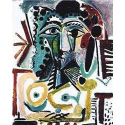 """Picasso """"Head Of A Seated Woman"""""""