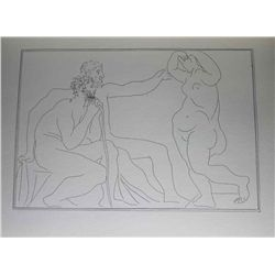 Vintage 1956 Picasso Lithograph