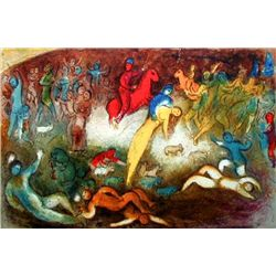 "Marc Chagall ""Chloe Is Carried Off By The Methymneans"""
