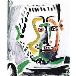 Picasso  Man's Head