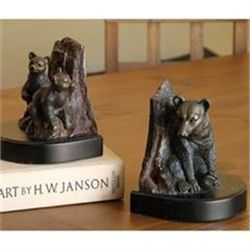 Bear Family Bookends