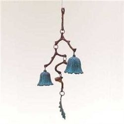 Branch &amp; Leaf Garden Bell/ Wind Chime