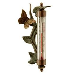 Butterfly Wall Mounted Thermometer