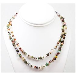 Multi Semi precious stone 312.0 ctw Necklace