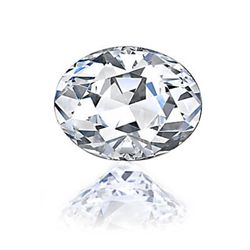 Diamond EGL Certified Oval 0.70 ctw G,VVS2