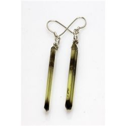 Natural 22.00ct Semi Precious Earring .925 Sterling