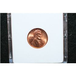 1957 Wheat Back Penny; MCPCG Graded MS63