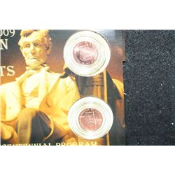 2009 Lincoln-Birth & Early Childhood Penny Set; P&D Mints