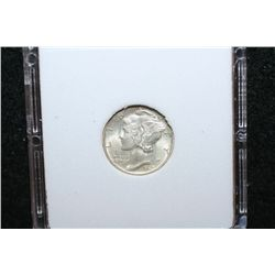 1940-S Mercury Dime; MCPCG Graded MS64