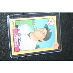 1987 MLB O-Pee-Chee Roger Clemens-Boston Red Sox Baseball Trading Card