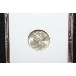 1944-D Mercury Dime; MCPCG Graded MS67
