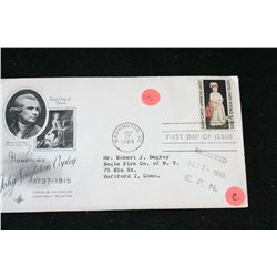 1965 First Day Issue Postal Stamp; John Copley-American Artist