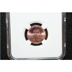 2009 First Day Issue Lincoln-Presidency Penny; NGC Graded BU