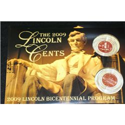 2009 Lincoln-Professional Life Penny Set; P&D Mints; Lot of 2