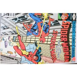 """1979 Marvel Comics; Spider-Woman """"At Last! Face-To-Face With Spider-Man"""" Edition"""
