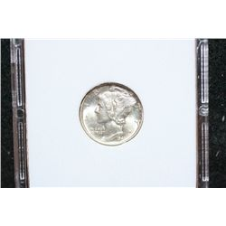 1941 Mercury Dime; MCPCG Graded MS66