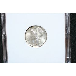 1941-S Mercury Dime; MCPCG Graded MS63