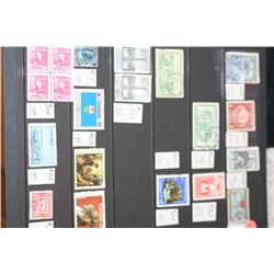 Canada Postal Stamps; Various Dates & Denominations; Lot of 20