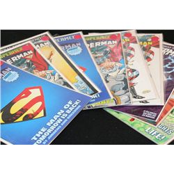 DC Comics; Various Dates & Heroes; Lot of 10