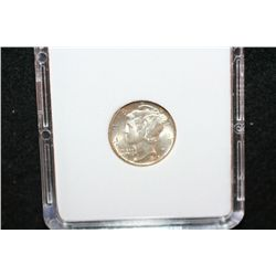 1945 Mercury Dime; MCPCG Graded MS63