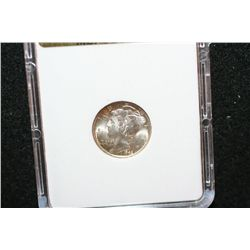 1945-S Mercury Dime; MCPCG Graded MS64