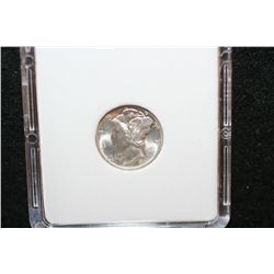 1945-D Mercury Dime; MCPCG Graded MS64
