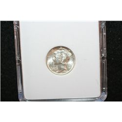 1945 Mercury Dime; MCPCG Graded MS65