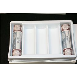 2005 Westward Journey Nickel Series, Roll, Lot of 2, Unopened