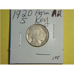 1920 S BUFFALO NICKEL
