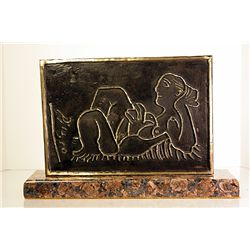Pablo Picasso   Original, Limited Edition Bronze - Reclining Woman