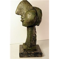 Pablo Picasso Original, limited Edition Bronze -Female Face